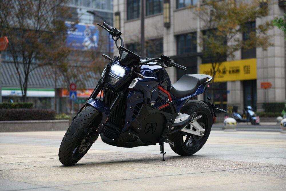 Alrendo TS Bravo electric motorcycle