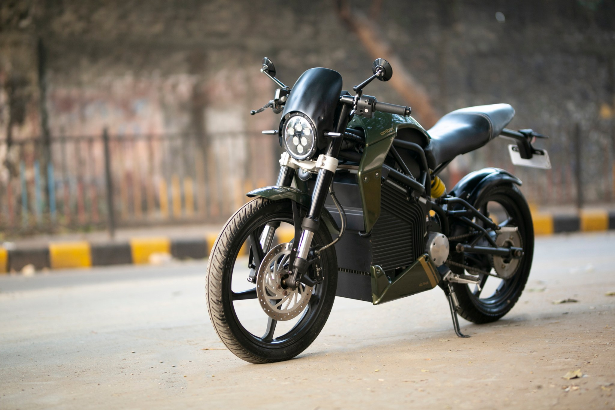 Amber Automotive to build premium electric motorcycles in