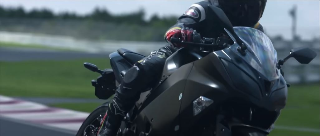 Kawasaki Patents Supercharger-Equipped Electric Hybrid Motorcycle