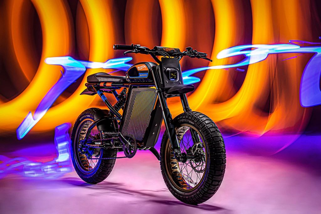 Hot Wheels SUPER73-RX, electric motorcycle