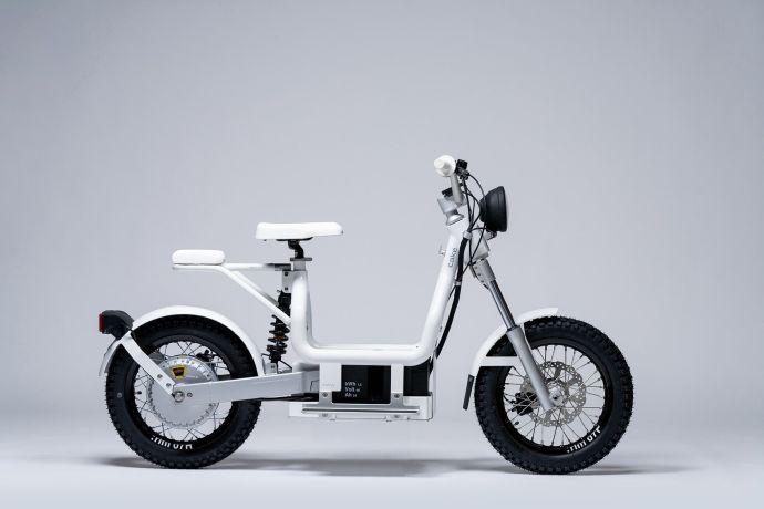CAKE Makka, electric moped