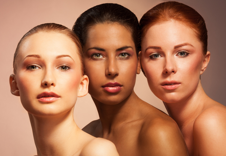 Image of three women of three different orientations