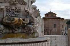 Fountain at the Piazza di San Giovanni in Laterano
