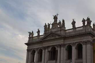The official name ~ Archbasilica of the Most Holy Saviour and Saints John the Baptist and the Evangelist at the Lateran