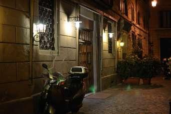 Leaving Ristorante La Pigna