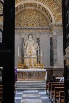 The chapel of Saint Benedict.