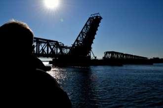 Amtrak Train Bridge on the Connecticut River
