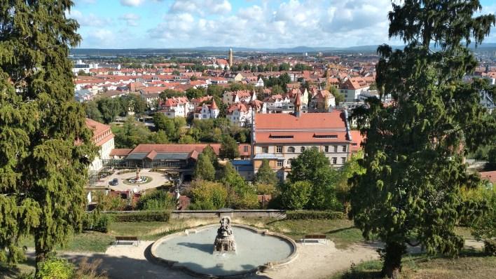 Ich wohne in Bamberg.