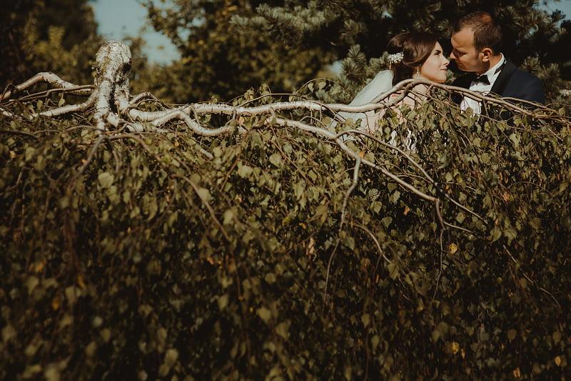 Sesja plenerowa ogrody Kapias