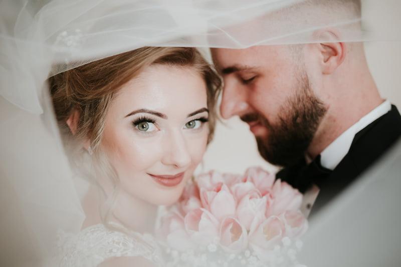 Reportaż ślubny portret