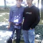 Me and Elijah Wood
