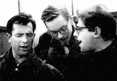 Jack Kerouac, Lucien Carr and Allen Ginsberg