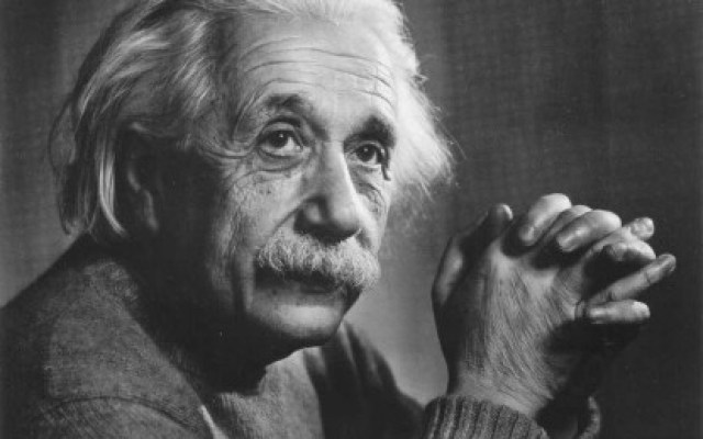 Documents handwritten by Einstein on his visit to Japan donated to Keio University library