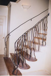 Interior Railings Birmingham AL - Allen Iron Works ...