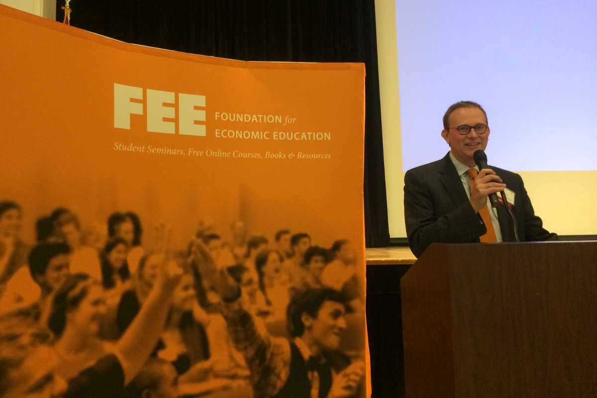 Allen Mendenhall at the Foundation for Economic Education