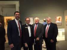 Justice Jay Mitchell, me, Judge Keith Watkins, Professor Mike DeBoer