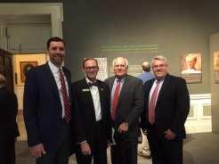 Justice Jay Mitchell, me, Judge Keith Watkins, Professor Mike DeBoer