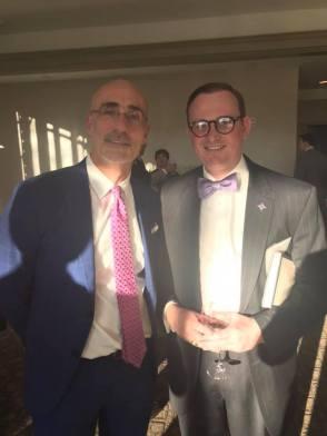 With Arthur C. Brooks