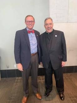 With Father Robert A. Sirico