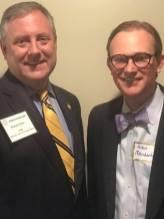 With Judge Richard Minor