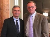 With Senator Del Marsh