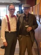 With Wayne Flint