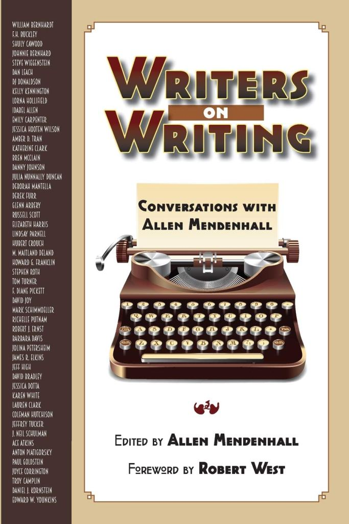Book Cover: Writers on Writing by Allen Mendenhall