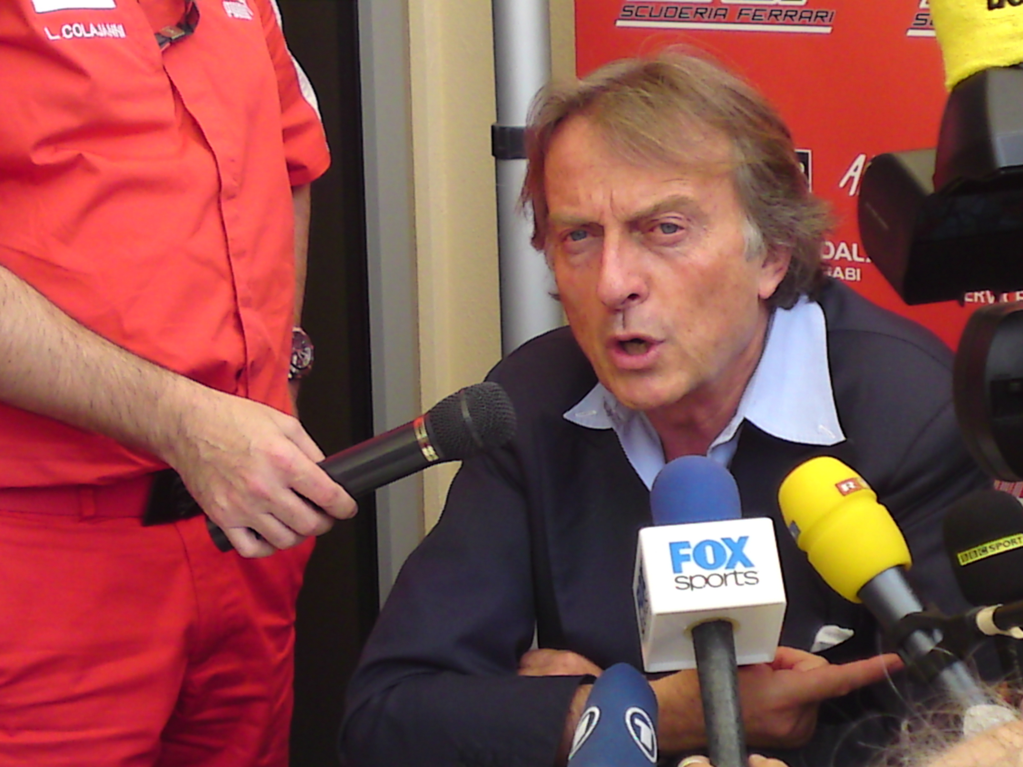 Montezemolo: Played a strong hand