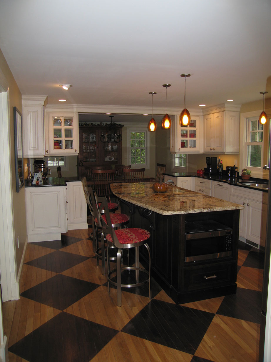 Converting your Dining Room and Kitchen into a large