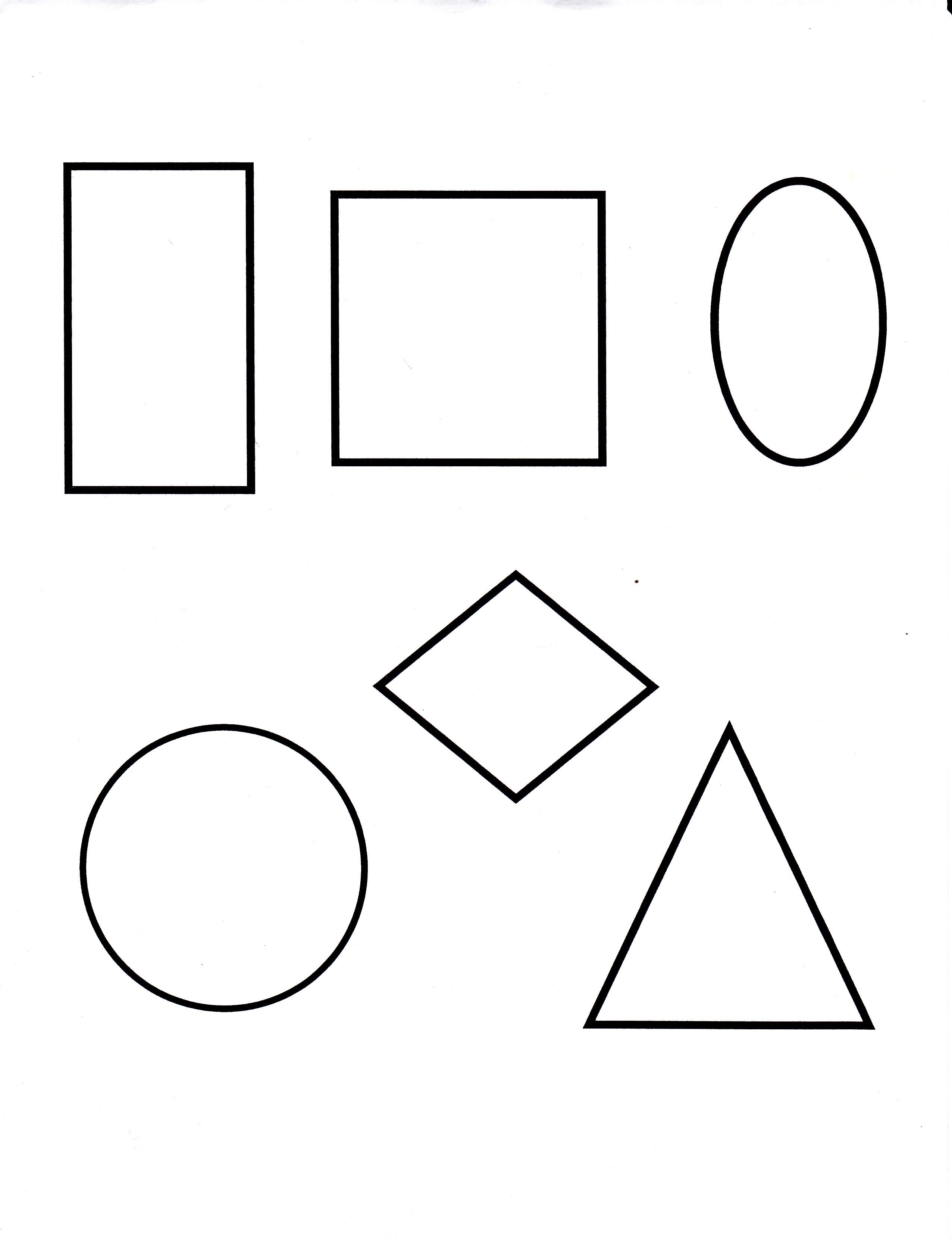 Kindergarten Shapes Lesson