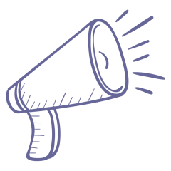megaphone sketch art