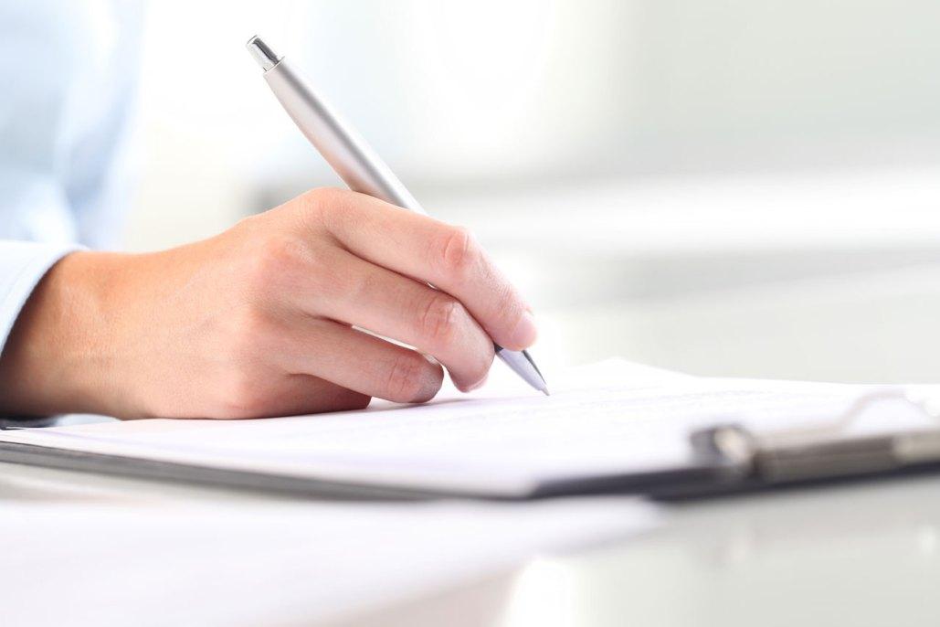Three Step Writing Process Header Image