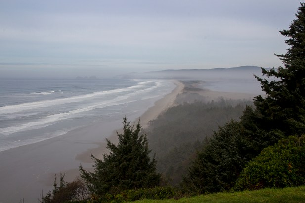 view of cape lookout and Netarts spit