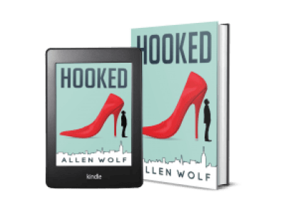 Hooked Book and Kindle Cover