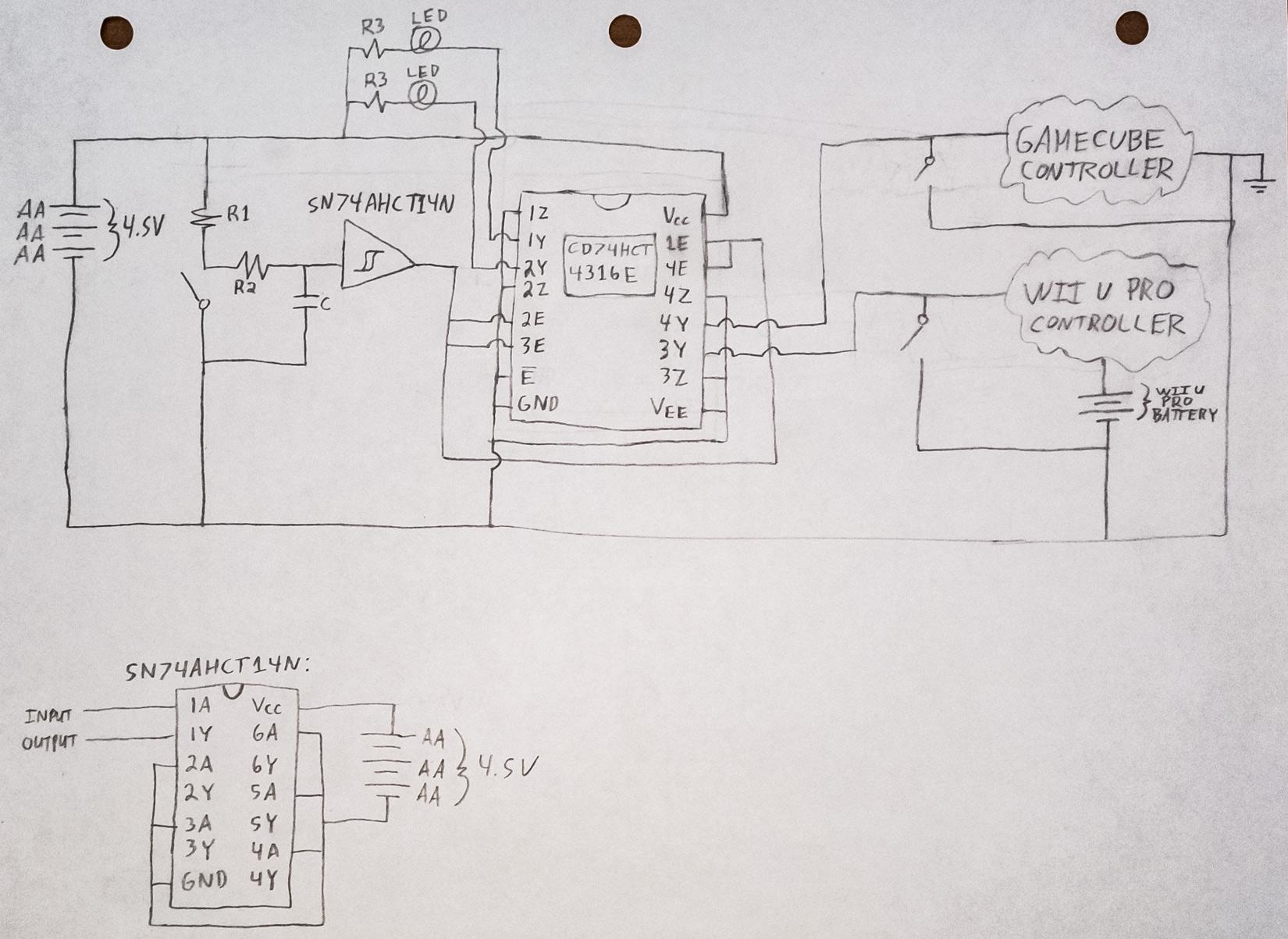 Xbox Wireless Controller Diagram