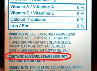 ... Read a Label When You Have Food Allergies (Canada) - Allergic Living