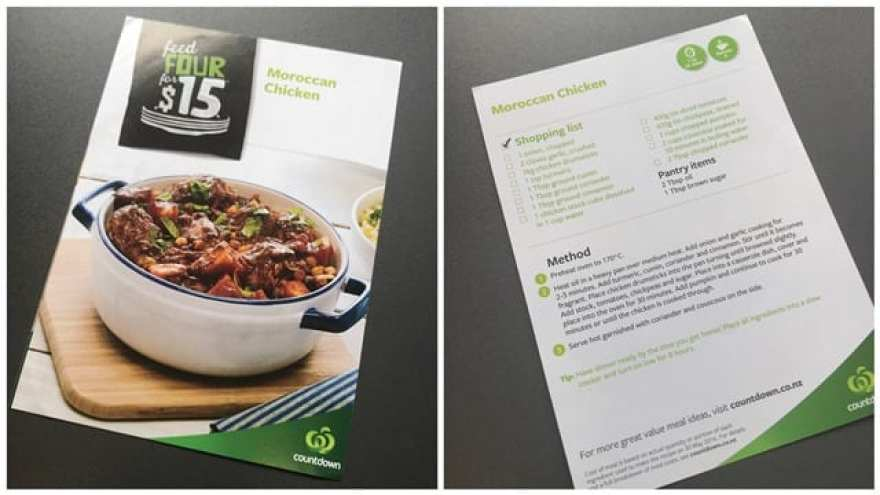 Countdown Moroccan Chicken - Recipe Adapting post Weight Loss Surgery - Allergic to Sugar