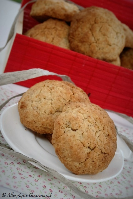 Cookies banane flocons de millet