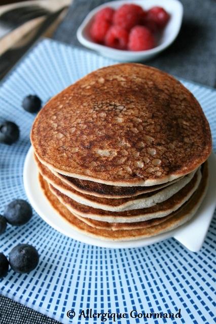 pancakes coco sans gluten sans lait sans œufs