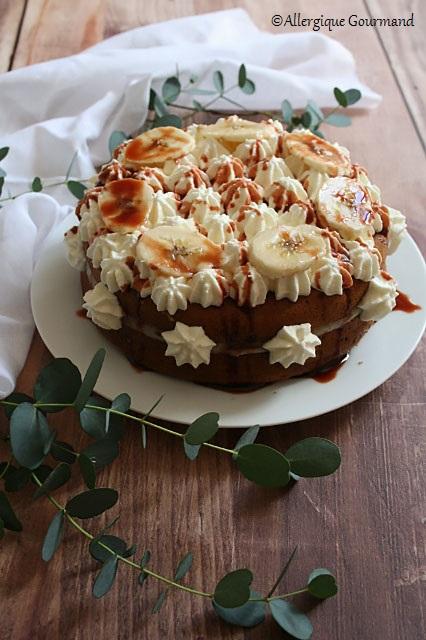 Gâteau façon banoffee