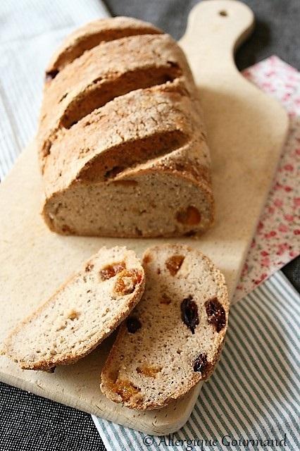 pain coco sarrasin abricots secs sans gluten sans lait sans œufs