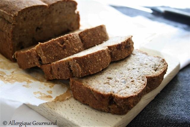 Pain magique sarrasin-quinoa sans gluten