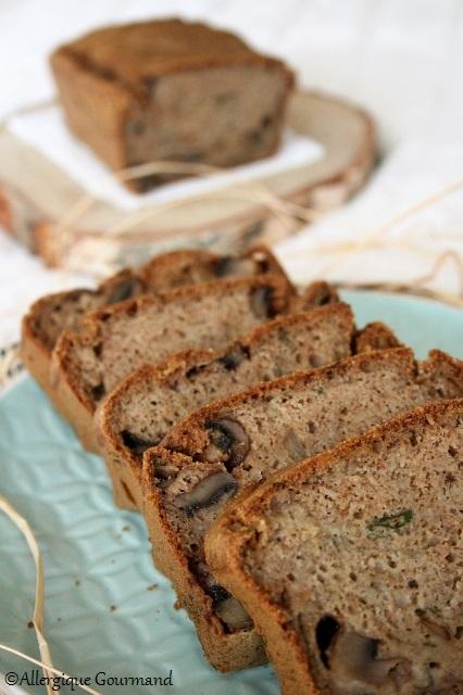 cake aux champignons sans gluten sans lait sans oeufs
