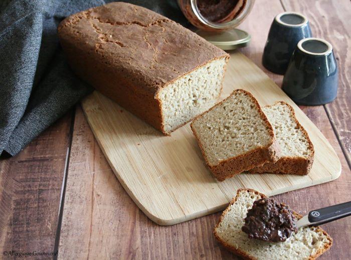 pain de mie au levain levure sans gluten sans lait sans oeufs
