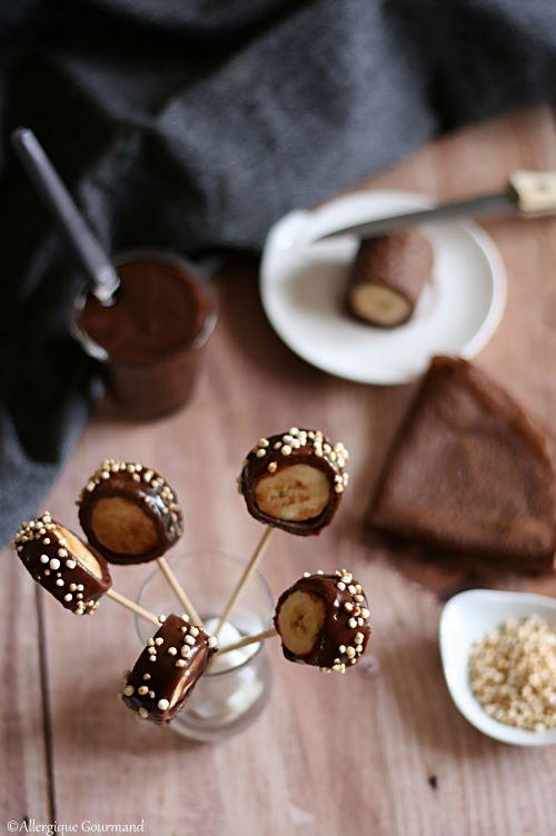 crêpes cacao coco banane sans gluten sans lait sans oeufs