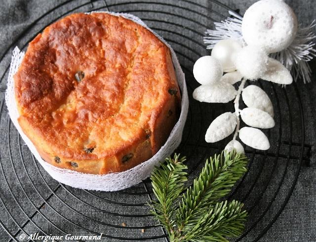 panettone sans gluten sans oeufs
