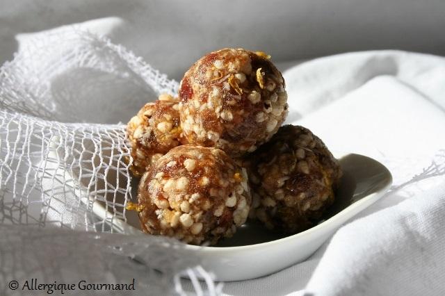 Energy Balls citron quinoa