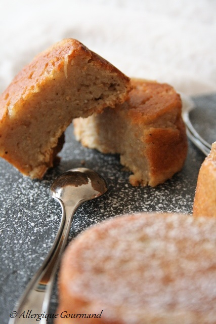 petits gâteaux ricotta citron bergamote sans gluten sans oeufs