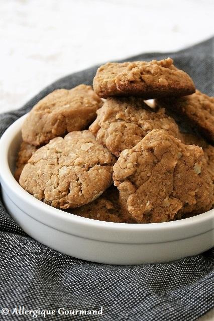 biscuits aux flocons de sarrasin sans gluten sans lait sans œufs