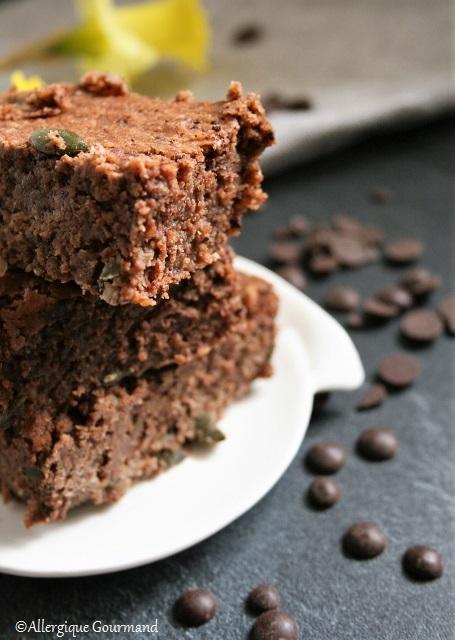 brownie haricots blancs sans gluten sans lait sans oeufs